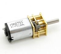 Brushed Motor 15mm 6V 20000KV w / 10: 1 Verhältnis Getriebe