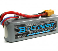 Turnigy Bolt 2200mAh 3S 11,4 V 65 ~ 130C High Voltage Lipo-Pack (LiHV)