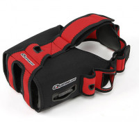 Quanum DIY FPV Goggle V2Pro Glove Upgrade (Rot / Schwarz)