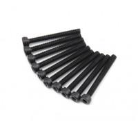 Metallkantmaschine Sechskantschraube M2.5x22-10 PC / Satz