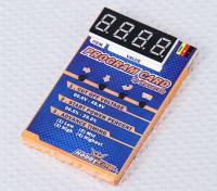 HobbyKing® ™ Programmierkarte für Auto ESC