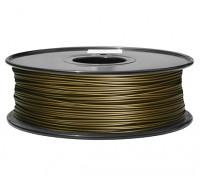 Hobbyking 3D-Drucker Filament 1.75mm Metall-Verbund 0,5 kg Spule (Red Copper)