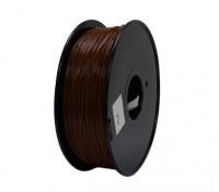 Hobbyking 3D-Drucker Filament 1.75mm PLA 1KG Spool (Brown)
