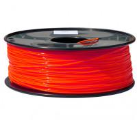 Hobbyking 3D-Drucker Filament 1.75mm PLA 1KG Spool (Fluorescent Red)