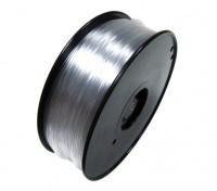 Hobbyking 3D-Drucker Filament 1.75mm Flexible 0.8KG Spool (Transparent)