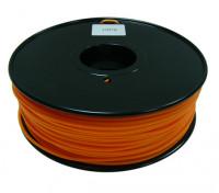 Hobbyking 3D-Drucker Filament 1.75mm HIPS 1KG Spool (Solid orange)