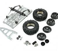1/10 SCX10 Metall Trailer (Kit)