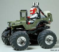 Tamiya Maßstab 1:10 Wild Willy 2 w / WR-02 Series Kit 58242