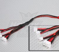 2 Pin JST bis 6 x E-Flight Ultra Micro Stecker Harness Lade