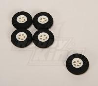 Licht-Schaum-Rad (Diam: 40, Breite: 11 mm) (5pcs / bag)
