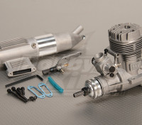 ASP S52A Zweitakt Glow Motor w / Remote HS Nadelventil