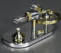 Stirling Displacer Motor - Arbeiten Vorführmodell