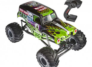 Axial SMT10 Grave Digger Monster Jam 1/10th Scale Electric 4WD Truck RTR 1