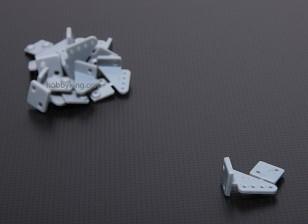 Pin Horns L20xW15xH11.52 (4 Löcher) 10pcs / set
