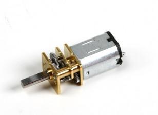 Brushed Motor 15mm 6V 20000KV w / 100: 1 Verhältnis Getriebe