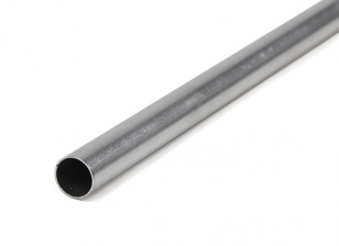 K&S Precision Metals Aluminum Stock Tube 10mm OD x 0.45mm x 1000mm (Qty 1)