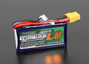 Turnigy Nano-Tech-1000mAh 2S 25 ~ 50C Lipo-Pack