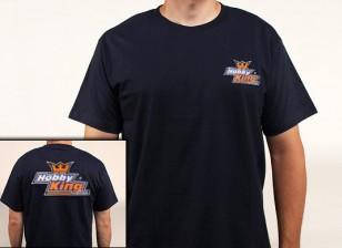 Hobby-König T-Shirt Marineblau (X-Large)