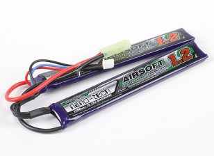 Turnigy Nano-Tech-1200mAh 2S 15 ~ 25C Lipo AIRSOFT-Pack