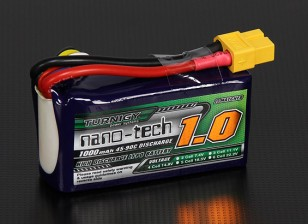 Turnigy Nano-Tech-1000mAh 4S 45 ~ 90C Lipo-Pack