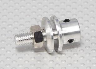 Prop-Adapter w / Stahlmutter 3mm Welle (Madenschraube Type)