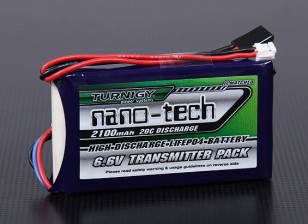 Turnigy Nano-Tech-2100mAh 2S1P 20C LiFePO4 Transmitter-Pack (Futaba T14SG & 4PK)