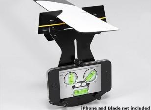 Flybarless Hubschrauber Pitch Messgerät für den Einsatz w / Smartphone