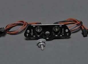 Dual-RX / CDI Netzschalter mit Kraftstoff-Filler