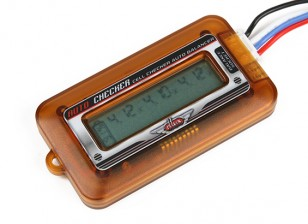 Turnigy DLUX LIPO Batterie-Zellen-Anzeige und Balancer (2S ~ 6S)