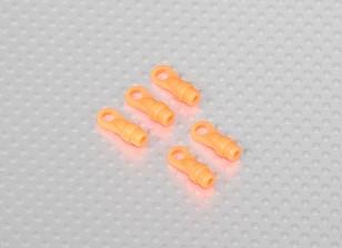 Kugel-Verbindungs-Enden für DFC 500 Größe Hubschrauber (5pcs / bag) - Orange