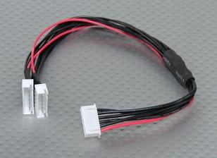 JST-XH Parallel Rest Blei 5S 250mm (2xJST-XH)