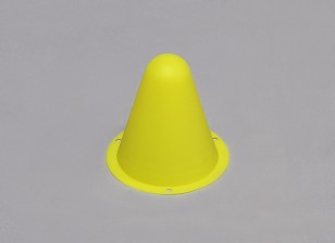 Kunststoff-Racing-Kegel für R / C Car Track oder Course Drift - Gelb (10pcs / bag)