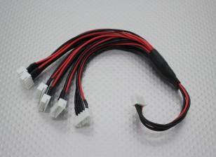 JST-XH Parallel Rest Blei 4S 250mm (6xJST-XH)