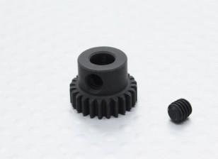 24T / 5mm 48 Pitch gehärteter Stahl Ritzel
