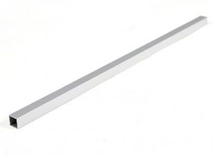 Aluminium-Vierkantrohre DIY Multi-Rotor 12.8x12.8x400mm (.5Inch) (Silber)