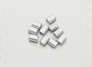 Crimp-Rohre für Stahldraht - 10pc
