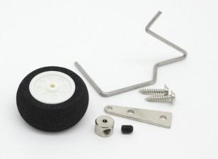25mm Steerable Foam Heckradanordnung