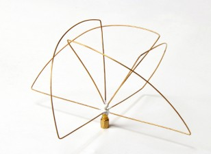 900Mhz zirkular polarisierte Antenne Empfänger (SMA) (LHCP) (Kurz-)