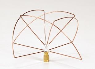 Zirkular polarisierte 1,2 GHz Empfänger Antenne (SMA) (LHCP) (Kurz-)