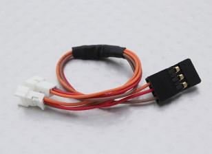 JR-Stecker auf 2 x JST (Molex) Weibliche 1,25mm (1pc)