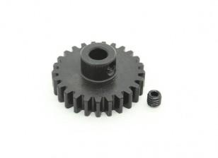 25T / 5mm M1 gehärteter Stahl Ritzel (1pc)