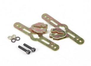 Sullivan 3 / 16inch Einstellbare Radverkleidung Montagewinkel (1 Satz)