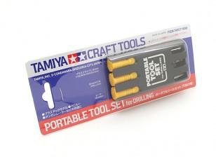 Tamiya Tragbares Werkzeug-Set für Drilling