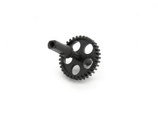 RJX X-TRON 500 Metall-Endstück Ritzel # X500-70506