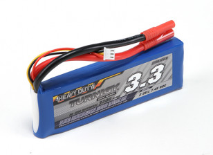 Turnigy Heavy Duty 3300mAh 2S 60C Lipo-Pack