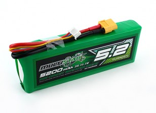 Multistar High Capacity 5200mAh 3S 10C Multi-Rotor Lipo Pack