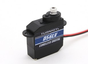 Turnigy ™ TGY-D56LV Coreless Low Voltage DS / MG Servo 0,89 kg / 0.10sec / 5.6g