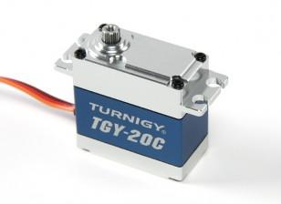 Turnigy ™ TGY-20C High Torque DS / MG Servo w / Legierung Fall 40kg / 0.18sec / 78g
