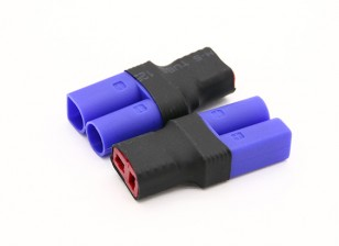T-Stecker-Buchse auf EC5 Male 2pcs / bag