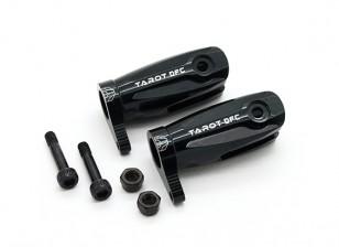 Tarot-450 Pro / Pro V2 DFC Hauptblatt-Griff Assembly (Large Bearing) - Schwarz (TL48010-B)